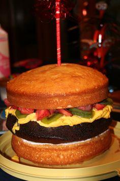 cheeseburger in paradise cake