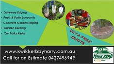 We are reliable concrete kerbing and driveway edging company  in Toowoomba city. Contact us for more info.