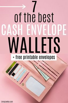 7 wallets that are perfect for the cash envelope system. If you are looking to perfect the envelope system make sure to use one of the budget wallets. #budgetwallet #cashenvelopewallets #cashbudgetwallet #daveramseywallet #cashenvelopesystem Best Money Saving Tips, Money Saving Challenge, Ways To Save Money, Money Tips, Saving Money, Envelope Budget System, Cash Envelope System, Budget Envelopes, Cash Envelopes