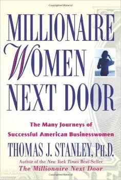 Booktopia has Millionaire Women Next Door, The Many Journeys of Successful American Businesswomen by Thomas J Stanley. Buy a discounted Hardcover of Millionaire Women Next Door online from Australia's leading online bookstore. Millionaire Next Door, Self Made Millionaire, Good Books, Books To Read, Leadership, Finance Books, Book Recommendations, Book Lists, Personal Finance