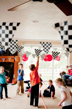 White Ginger Events: Hot Wheels Birthday Party