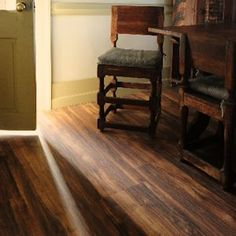 Serenity Hardwood Patterns by WE-Cork Flooring || All the technical benefits of cork flooring, with the look of a real hardwood floor!