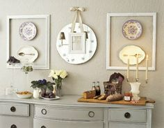 flea market decorating | The Eclectic Home by Lisa: Flea Market Flair