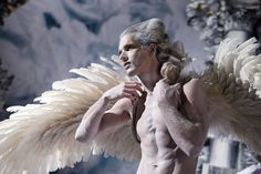 Style Bible Life Ball 2014 photos (unretouched) by Inge Prader - angel Mode Baroque, Arte Fashion, Fashion Design, Ange Demon, Angels And Demons, Male Angels, Pose Reference, Belle Photo, Art Inspo