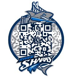 QRCode-riversharks-by-atsqrcodes