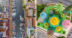15stunning bird's eye views from around the world