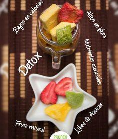 Fruta Crocante 🍏 🍓 🍌 🍍 🍊 Frunch.  Llévate todos lo beneficios  de las frutas a cualquier lugar😋  .  Desintoxica tu cuerpo y lleva un estilo de vida saludable.    Sabores disponibles:  Fresa 🍓.  Banano 🍌.  Uchuva 🍊.  Manzana verde 🍏.  Piña.🍍 🍃 😋 😘 🍍 🍏 🍓 🍌 🍍 🍊 🌴   #healthy #fruit #fruits #snacks #healthysnack #parfait #salud #detox #organic #fitness #uchuva #freezedried #freezedriedfruits #instafood #vegan #freezedry #colombia #frutas #liofilizados ##frutacrocante #viernes…