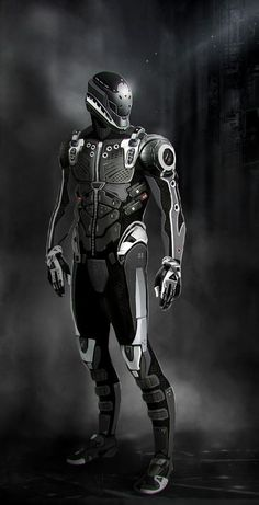 concept space fighter suit - Google Search