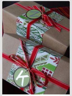 Inspiration um Weihnachtsgeschenke hübsch zu verpacken - Unser Bodensee