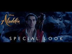 """Disney has just released a new TV spot for the upcoming live-action version of """"Aladdin."""" The new TV spot features never-before-seen footage from the film including a look at Jafar, the Cave of Wonders, and Genie. Upcoming Disney Movies, Disney Films, Dan Lin, Aladdin Live, Disney Specials, Disney Fan, Guy Ritchie, New Trailers, Movie Trailers"""