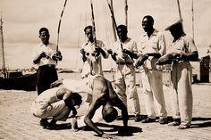 Roda de capoeira em Salvador-Bahia, registrada por Pierre Verger