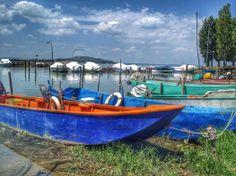 #AlTrasimeno, darsena dei pescatori.