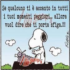 Snoopy e l'Amicizia!