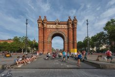 Arc de Triomf by michailchristodoulopoulos