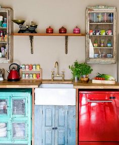 EN MI ESPACIO VITAL: Muebles Recuperados y Decoración Vintage: Lunes de Inspiración