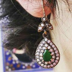 Pendiente estilo Otomano