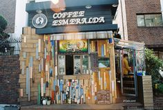 Coffee Esmeralda in Daehak-ro (대학로) , Seoul.