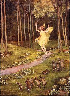 The Spring Fairy Ida Rentoul Outhwaite