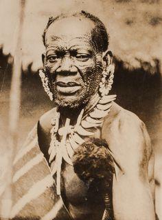 Chef Ebaka. Congo Belge. 1904. Expédition Stanley