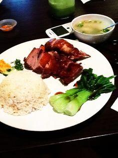 Super #delicious. #duck #rice #junnjan #foods #meals #vegetables