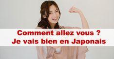 Je vais bien en japonais : Comment allez vous en japonais ? / #japon #japonais