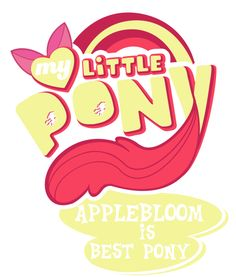 Before you ask, yes, I am going to try and make one for each, and not just the Mane Six. I am doing my favorite ones first. Edit by James Corck. My Little Pony: Friendship is Magic Logo belongs to ...