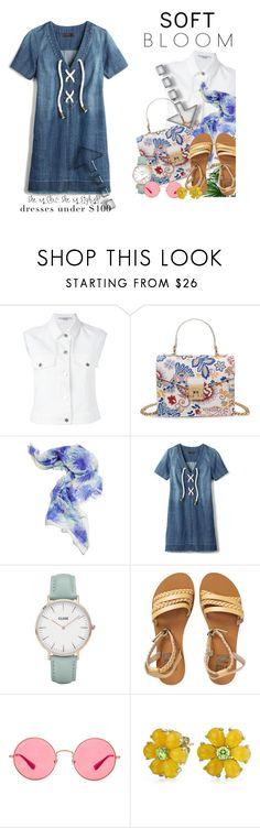"""""""Soft bloom - she is chic- she is stylish"""" by no-where-girl ❤ liked on Polyvore featuring STELLA McCARTNEY, Anna Coroneo, Avon, CLUSE, Billabong, Ray-Ban, Bling Jewelry and under100"""