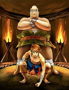 The Legend of Zelda: Twilight Princess / Link and Mayor Bo / 「ゼルダの伝説まとめ」/「梟」の漫画 [pixiv] [03]
