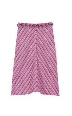 Stripe Tweed Skirt With Glitter Stone Embroidery by Marc Jacobs Now Available on Moda Operandi #shopitrightnow