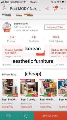 Best Online Stores, Online Shopping Stores, Shopping Hacks, Online Shop Baju, Diy Room Decor For Teens, Art Drawings For Kids, Diy Crafts For Gifts, Room Inspiration, House Styles