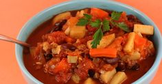Sweet potato vegan chili - The original Year of Slow Cooking site (CrockPot 365) by slow-cooking expert Stephanie O'Dea