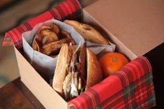 winter picnic lunchbox!