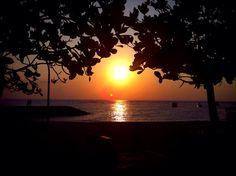 Sunrise at sanur beach Bali