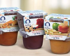 Gerber® FOODS® Lil' Bits™ Recipes is great baby food for babies who have hit the crawler stage and are ready to eat food with more texture and learn how to chew. Sweet Potato And Apple, Walmart Deals, Gerber Baby, Baby Food Recipes, Kids Meals, Blueberry, Good Food, Treats, Snacks