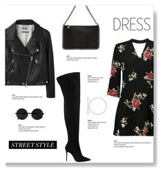 """""""Choker Dresses"""" by brccz ❤ liked on Polyvore featuring Boohoo, Acne Studios, Gianvito Rossi, STELLA McCARTNEY, polyvoreeditorial, polyvoreset and chokerdress"""