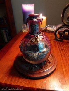 Protection Witch Bottle. sea salt mixed with black pepper and ash dried lavender dried white sage coriander seeds rosemary flax seeds red rose petals rose thorns a few drops of war water glass shards amethyst clear quartz black tourmaline sealed with red wax and placed in the center of the home