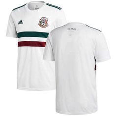 cheap for discount 21217 db05e Mexico National Team 2018-2019 Away Blank Jersey â   White Green