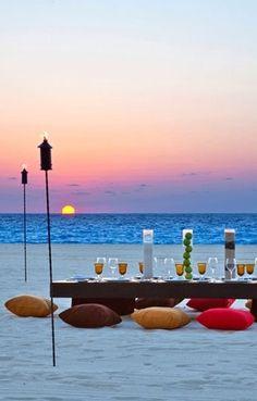 Beach Dinner, Le Meridien Cancun Resort & Spa, Cancun, Mexico