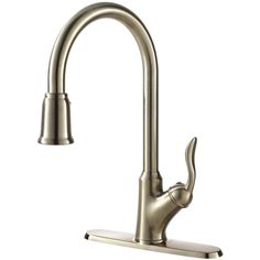 Fontaine Francesca Stainless Steel Single-handle Pull Down Kitchen Faucet - Overstock™ Shopping - Great Deals on Fontaine Kitchen Faucets