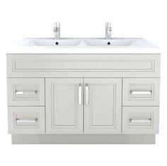 Style Selections Northrup White Traditional Bathroom Vanity Common - Lowes hardware bathroom vanity