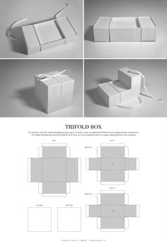 Trifold Box – FREE resource for structural packaging design dielines
