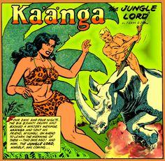 Kaanga The Jungle Lord