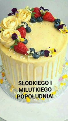Good Morning Funny, Cheesecake, Birthday Cake, Pudding, Blog, Flowers, Cheesecakes, Birthday Cakes, Custard Pudding