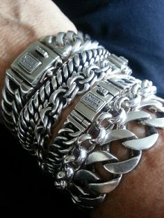 Cool & Unique Birthday Gift for Him Men Husband Dad Boyfriend Boys, Fun Gadget Mens Gifts Ideas, Survival Gear Kits, EDC Emergency Tools and Everyday Carry Gear, Official Survival Kit - My buddha bracelets :] - Bracelets For Men, Fashion Bracelets, Mens Silver Bracelets, Stocking Stuffers For Men, Chains For Men, Silver Man, Ring Bracelet, Silver Jewelry, Men's Jewelry