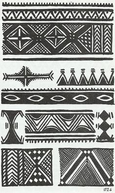 Discover recipes, home ideas, style inspiration and other ideas to try. Ethnic Patterns, Textile Patterns, Print Patterns, Arte Tribal, Tribal Art, Cruces Tattoo, Berber Tattoo, Motif Oriental, African Tattoo