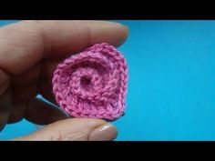 Spiral Spiral crochet heart valentines Crochet Lesson 328....has english translation, very nice tutorial.