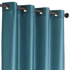 "Hamilton Grommet Top Curtain - Teal 108"" $39.96"
