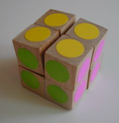 Clear instructions on how to make your own folding cube puzzle.  The animation at the bottom of the page is super.  Ideas for what to put on the cube's faces: photos, kids' drawings, Sunday comics