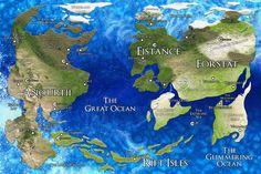 Should fantasy maps have projections? Fantasy Map Making, Fantasy World Map, Fantasy City, Landscape Concept, City Landscape, Imaginary Maps, World Map Design, Hero's Journey, Fictional World