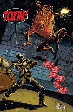 Agent Venom Vs. Toxin